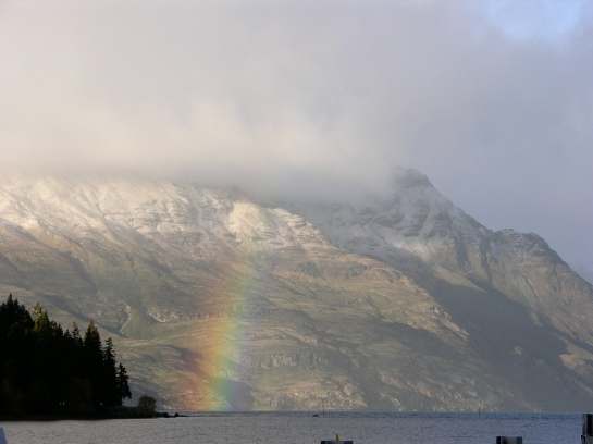 Rainbow in Queenstown
