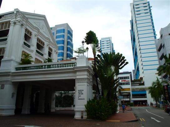 Colonial and Modern Building