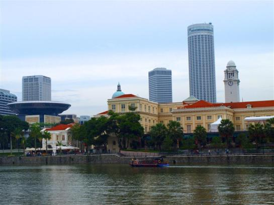 Opposite Boay Quay, Singapore River