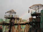 rainbow at waterworld, universal studio