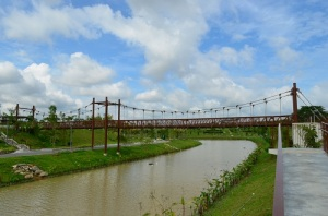 punggol waterway suspension bridge